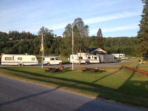 Ankomst Bjerka camping